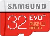 Samsung Evo+ 32GB Micro SDHC class 10 - met adapter