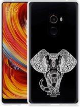 Xiaomi Mi Mix 2 Hoesje Elephant Mandala White
