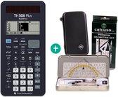 TI 30 X Plus MathPrint + Geometrie Set + Schutztasche