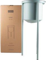 Plantentafel LEAF hoog - Watergroen / Diameter 30 cm