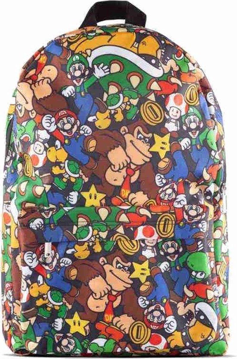 Nintendo - Super Mario Rugtas Met Print - Heren