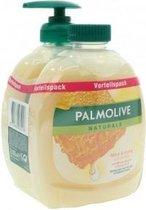 Palmolive vloeibare zeep 2x300ml melk & honing