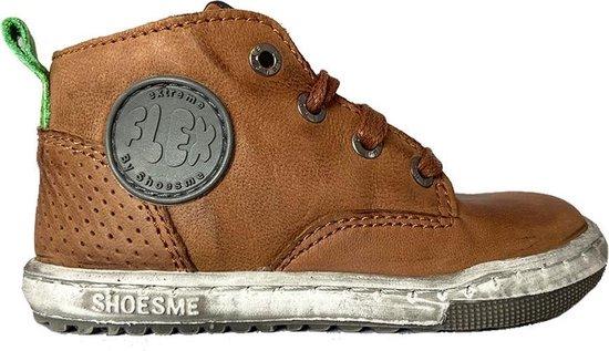 Bruine ShoesMe Veterschoenen Extreme Flex