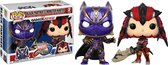 Funko Pop! Marvel Vs Capcom 2-Pack Black Panther Vs Monster Hunter - Verzamelfiguur