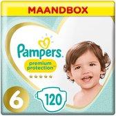 Pampers Premium Protection Luiers - Maat 6 (13+ kg) - 120 stuks - Maandbox
