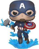 Funko - Marvel #573: Captain America with with broken Shield and Mjolnir (Avengers: Endgame) Pop!