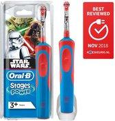 Oral-B Vitality Star Wars - Elektrische Tandenborstel Voor Kinderen - 1 Handvat en 1 Opzetborstels