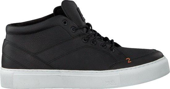 HUB Heren Hoge sneakers Kingston 3.0 - Zwart - Maat 43