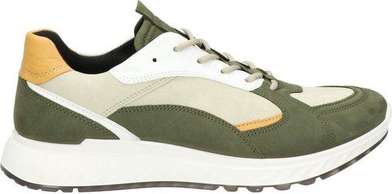 Ecco ST.1 heren sneaker - Groen multi - Maat 39