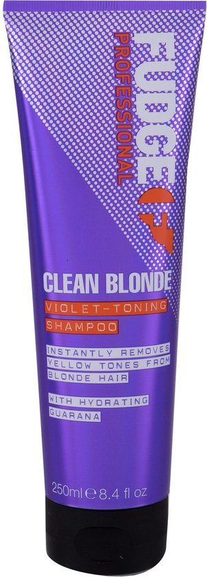 Fudge Clean Blonde Violet Toning Shampoo - 250 ml