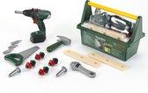 Bosch Speelgoed Tool Box met batterij-aangedreven Boormachine