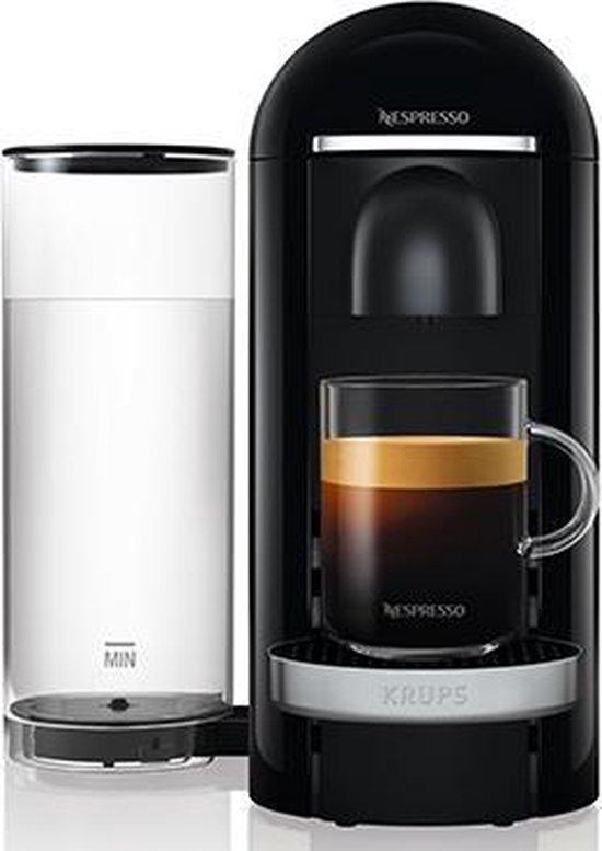 Krups Nespresso Vertuo + XN9008 Deluxe - Koffiecupmachine - Zwart