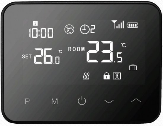 Optima W Exclusive slimme thermostaat - wifi - RF