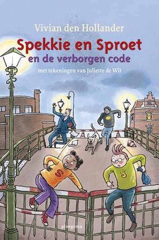 Spekkie en Sproet  -   Spekkie en Sproet en de verborgen code