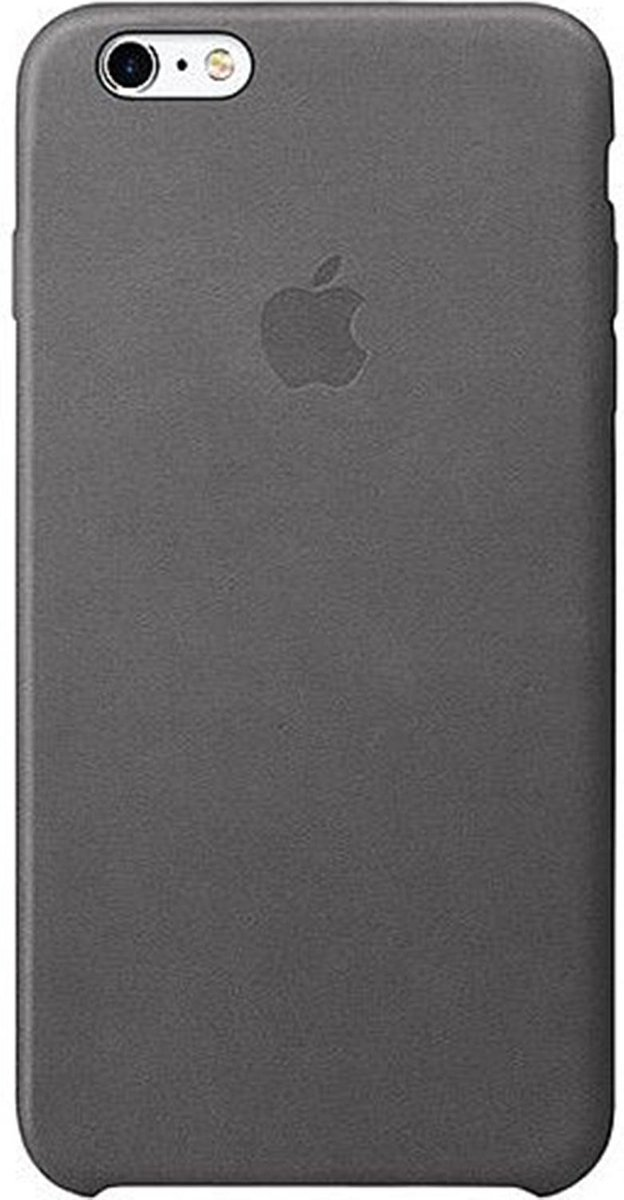 Apple Leren Hoesje voor iPhone 6/6s Plus - Storm Grey