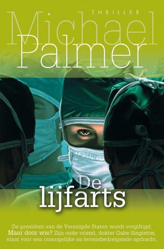 Cover van het boek 'De lijfarts' van M. Palmer