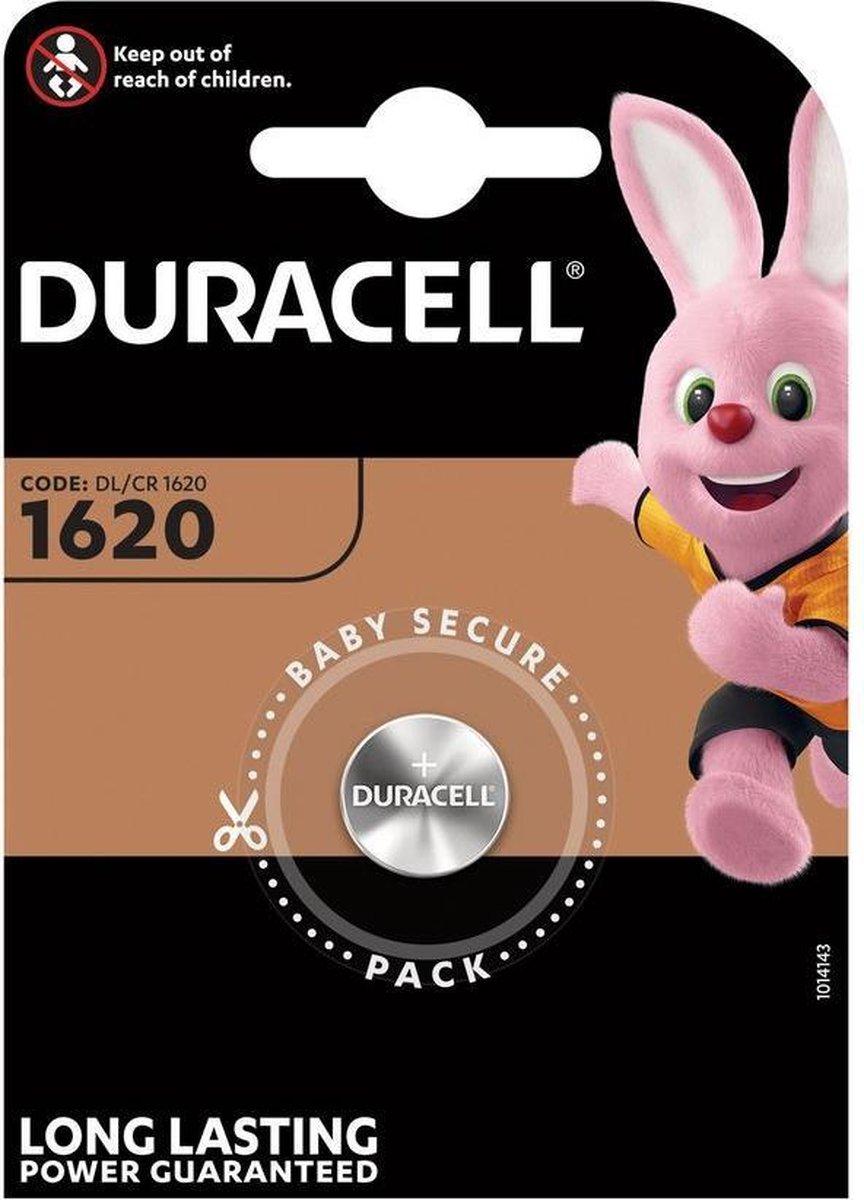 Duracell CR1620 - Lithium batterij - DL1620 - 1 stuk