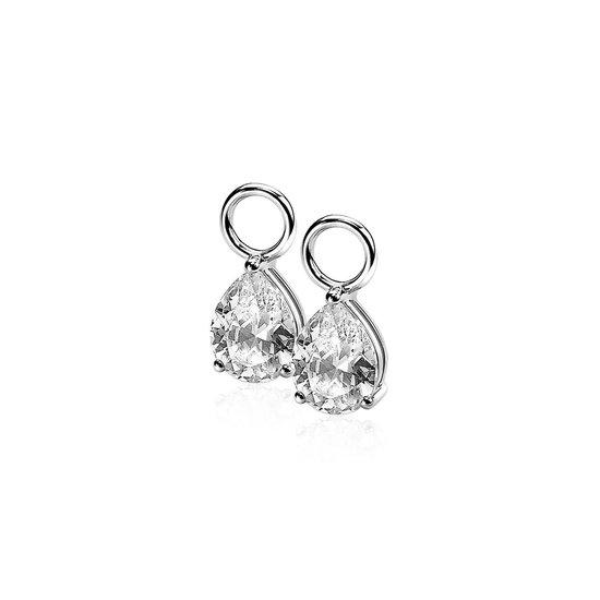 Zinzi Jewels Zilveren Oorbedels  - Zilver