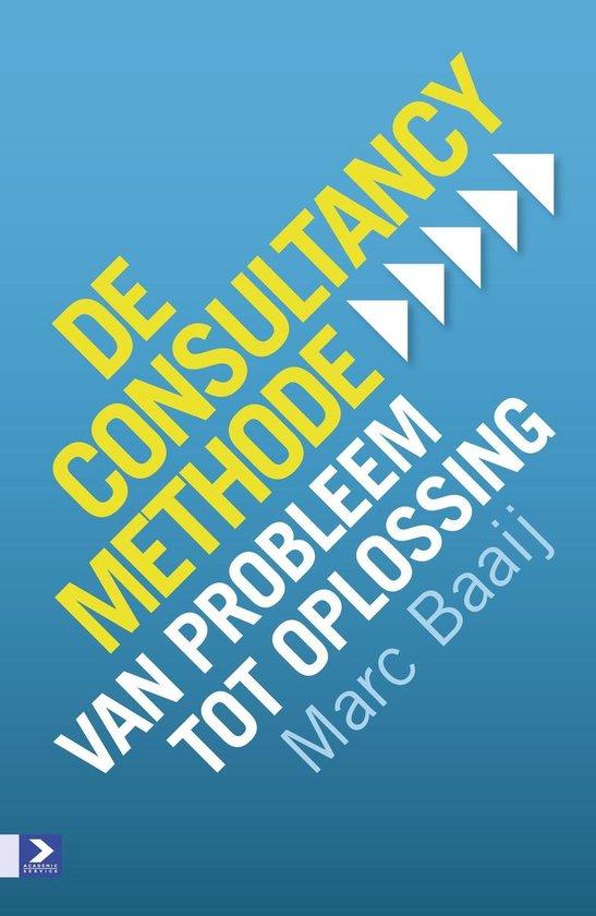 Boek cover De consultancymethode van Marc G Baaij (Onbekend)
