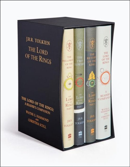 Boek cover The Lord of the Rings Boxed Set van j. r. r. tolkien (Onbekend)
