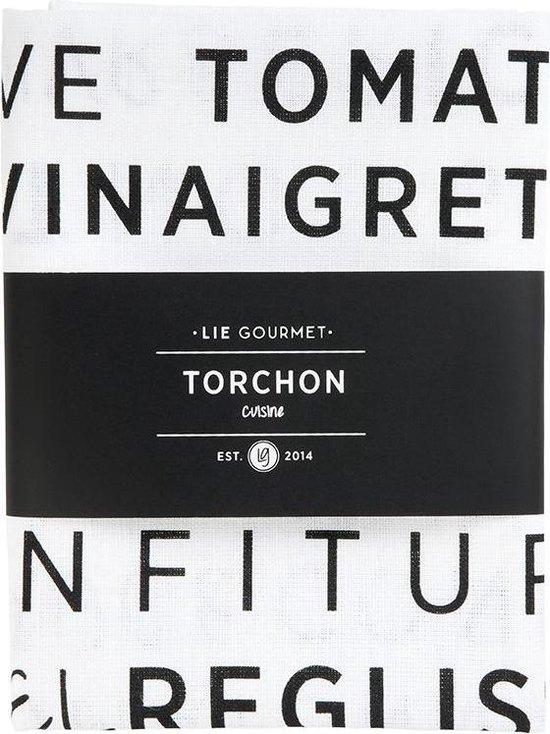 Lie Gourmet Kitchen Towel - 1 Pc. (White) 50X70 Cm