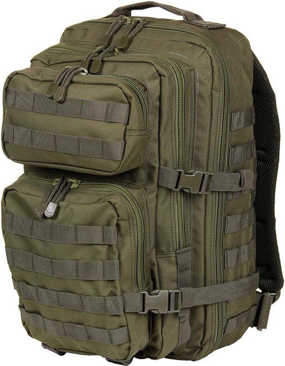 101 Inc Mountain Backpack - US leger - Rugzak - 45 liter  - Leger Groen