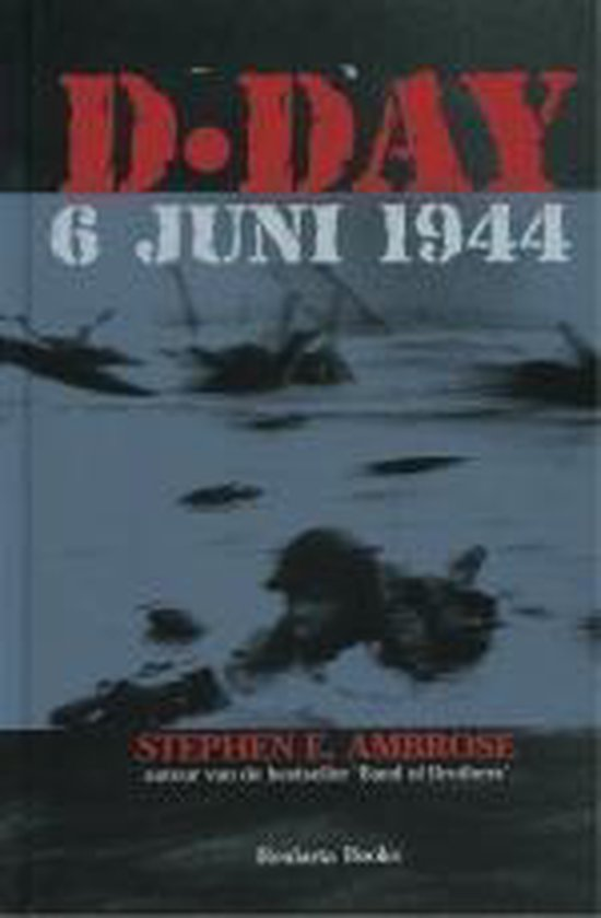 Boek cover D Day van Stephen E. Ambrose