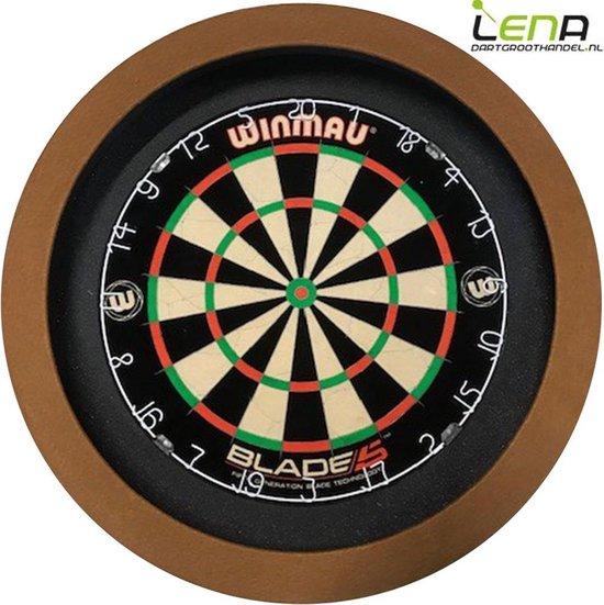 LENA Dartbord Verlichting BASIC (Bruin)