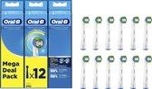 Oral-B Precision Clean - Met CleanMaximiser-technologie - Opzetborstels - 12 Stuks