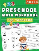 Preschool MATH Workbook for toddlers Ages 3-5