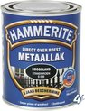 Hammerite Hoogglans Zwart S060 750ML