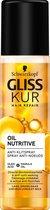 Schwarzkopf Gliss Kur Oil Nutritive Anti-klit Spray 200 ml - 6 stuks - Voordeelverpakking