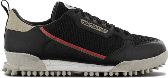 adidas Originals Continental 80 BAARA - Heren Sneakers Sport Casual Schoenen Zwart EF6770 - Maat EU 45 1/3 UK 10.5