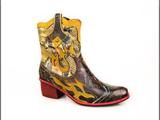 Laura Vita western boots bruin