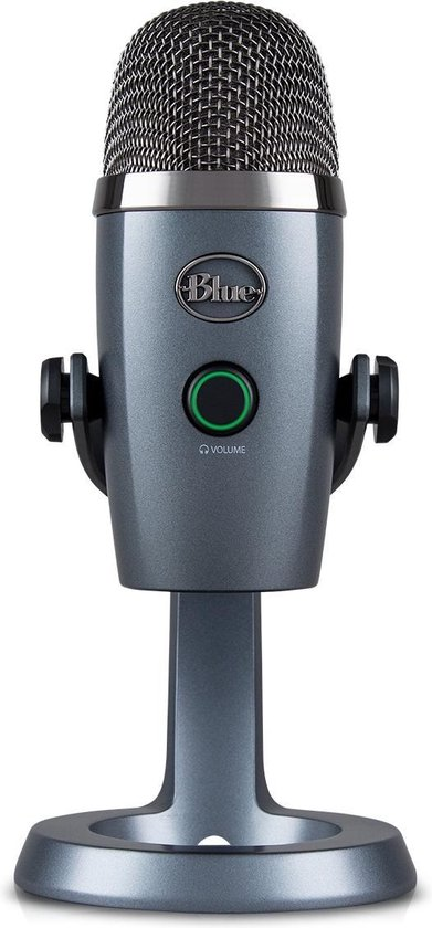 Blue Microphones Yeti Nano USB Microfoon voor Streaming en Recording - Shadow Grey