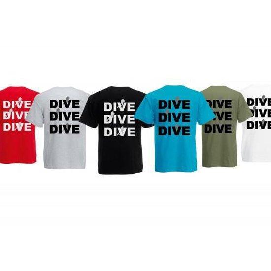 Procean Dive T-shirt Men 4xl Zwart