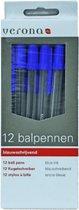 Balpennen - 12st - Blauw