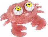 Toi-toys Stessdier Met Wiebelogen Roze