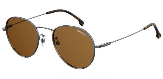 Carrera Eyewear Zonnebril 216/g/s Unisex Grijs Met Bruine Lens