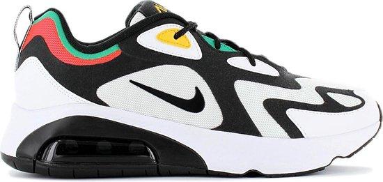 Nike Air Max 200 AQ2568 101 Heren Sneaker Sportschoenen Schoenen Wit Maat EU 43 US 9.5