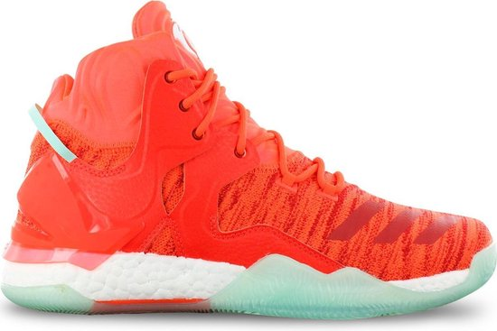 adidas Derrick D Rose 7 Primeknit AQ7743 Heren Basketbalschoenen Sportschoenen Sneaker Rood - Maat EU 50 2/3 UK 14.5