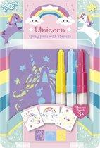 Totum Unicorn spraypens - blaaspennen