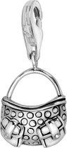 Quiges - 925 Zilver Charm Bedel Hanger Handtas - HC202