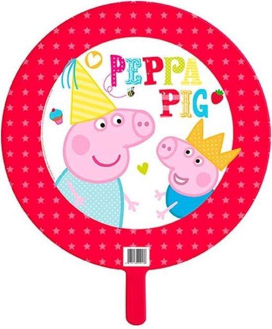 Haza Original Folieballon Peppa Pig Rood/wit 45 Cm