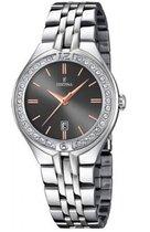 Festina F16867/3 Mademoiselle - Horloge - Staal - Zilverkleurig - 32,5 mm