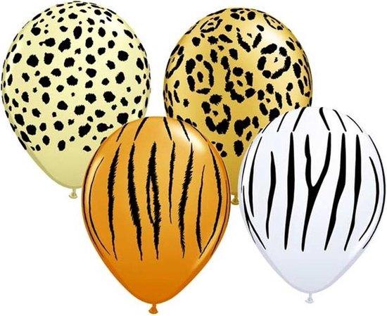 Ballonnen Safari - Circa 25 stuks