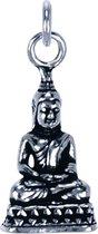 Zilveren Boeddha ketting hanger