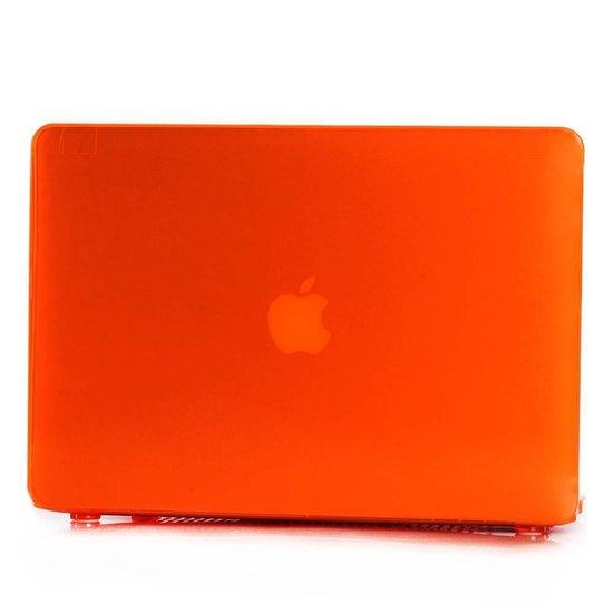 Lunso - hardcase hoes - MacBook Air 13 inch (2010-2017) - glanzend oranje