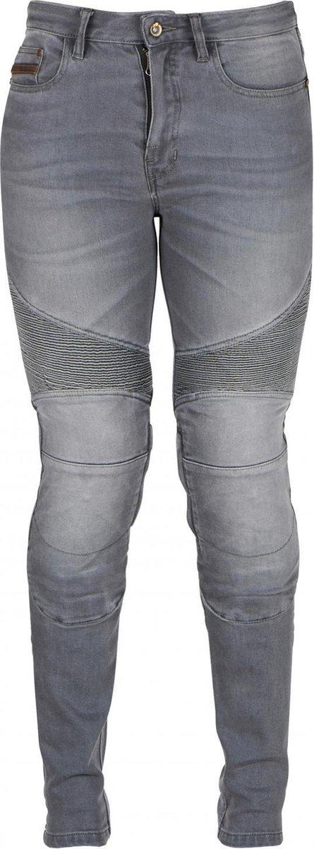 Furygan Purdey Lady Grey Motorcycle Jeans 44