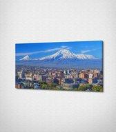 Ararat Yerevan City Armenia Canvas